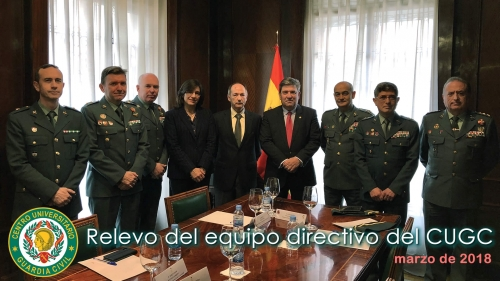 El Director General de la Guardia Civil preside el relevo del equipo directivo de su Centro Universitario