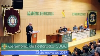 El Director General de la Guardia Civil preside el acto de Ceremonia de Postgrados del CUGC 2019
